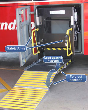 Easy Access Coach Lifter - Greyhound Australia