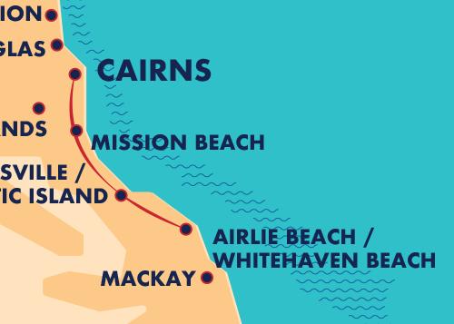 Bus Between Cairns & Airlie Beach   Greyhound Australia