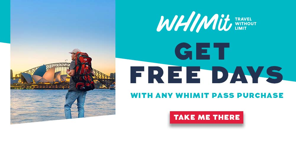 Get Extra Days FREE when you buy a Whimit Pass