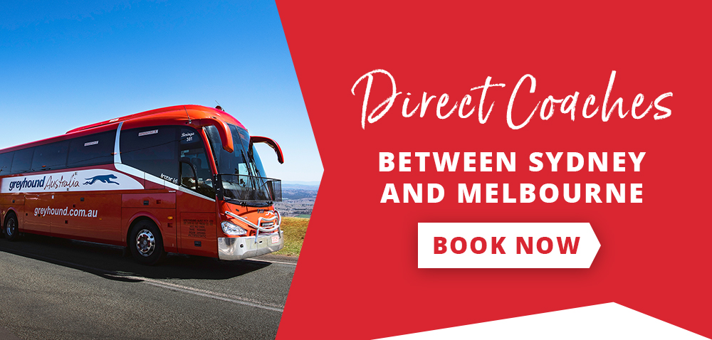 Direct Coaches between Sydney and Melbourne