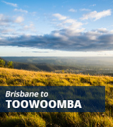 Brisbane to Toowoomba bus
