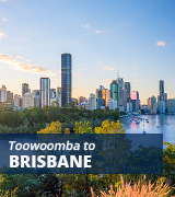 Toowoomba to Brisbane bus
