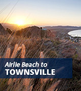 Airlie Beach to Townsville bus