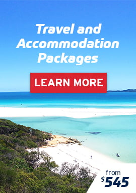 Travel & Accommodation Packages from $545