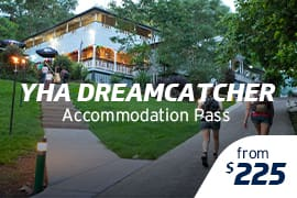YHA Dreamcatcher Accommodation Pass