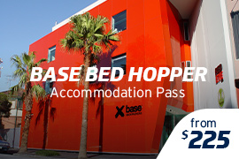 Base Bed Hopper Accommodation Pass