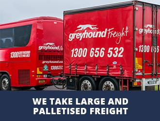 we take large and palletised freight