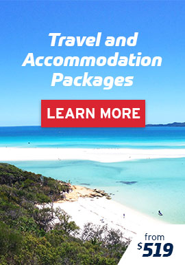 Travel & Accommodation Packages from $519